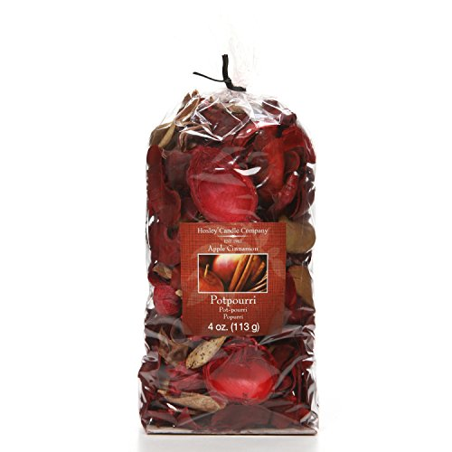 Hosley Apple Cinnamon Potpourri, 4 oz. Ideal Gift for Weddings, Party Favor, for Dried Floral Arrangements in Spa, Reiki, Meditation, Bathroom Settings O9