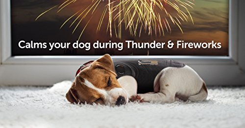 ThunderShirt Classic Dog Anxiety Jacket | Vet Recommended Calming Solution Vest for Fireworks,...