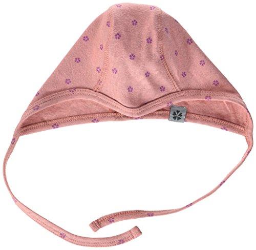 Papfar Baby-Mädchen Cotton Mütze, Rosa (Dusty Rose 516), 41 (Herstellergröße: 3M)