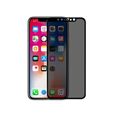 """Nillkin Tempered Glass for Apple iPhone 11 Pro (5.8"""" Inch) 3D AP+ Max Privacy Protector Tempered Glass 3D Edge to Edge Protection Black Color"""