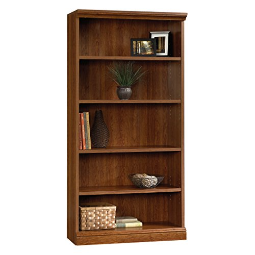 Sauder 101785 Camden County Library, Planked Cherry Finish