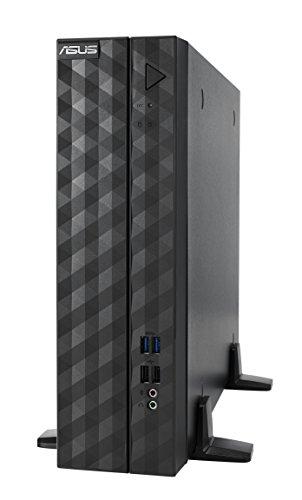 ASUS ESC510 SFF G4- Ordenador de sobremesa (Intel Xeon E3-1225 V6, 2 x 8 GB RAM, 256 GB SDD), Negro