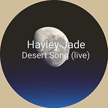 Desert Song (Live)