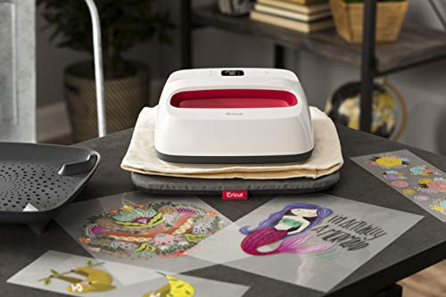 """Cricut EasyPress 2 - Heat Press Machine For T Shirts and HTV Vinyl Projects, Raspberry, 9"""" x 9"""""""