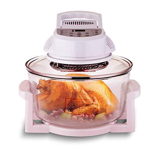 Freidora de aire de microordenador hogar inteligente multifuncional horno óptico Parrilla de aire horno regalo del Día de la madre