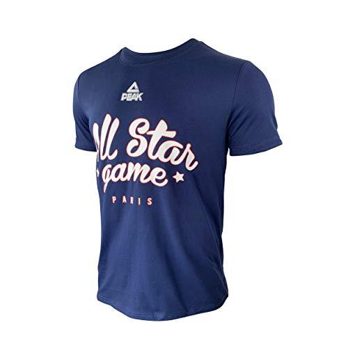 Ligue Nationale de Basket T-Shirt Bleu All Star Game 2019 Camiseta, Unisex...