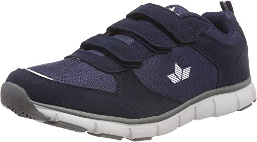 Lico Lionel V, Zapatillas de Deporte Unisex Adulto, Azul (Marine/Gr Marine/Gr), 45 EU