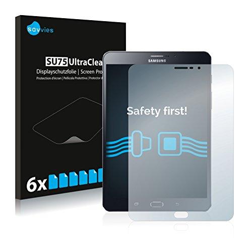 savvies 6-Pezzi Pellicola Protettiva Compatibile con Samsung Galaxy Tab Tab S2 8.0 LTE Protezione Schermo Trasparente