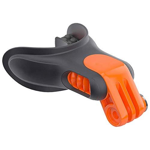 Mund Halterung Set Unterwasser Floaty Mundstück Tragbar Surfen Hosenträger Anschluss Skating Leicht Snowboard Kamera Zubehör Biss Surfen Für GOPRO Hero 7 6 5