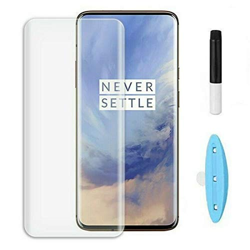 CASSIEY Screen Protector for Samsung Galaxy S10 (Transparent) Edge to Edge Full Screen Coverage with Easy Installation Kit UV Tempered Glass
