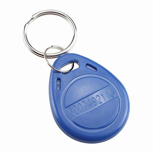 Keypad Card for Door Access Control System, AGPtEK 125kHz EM4100 RFID Proximity ID Entry Access Key Fob Reader for Security Lock