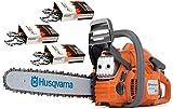 Best Husqvarna Chainsaws - Husqvarna 450e-Series II (50cc) Cutting Kit Includes Chainsaw Review
