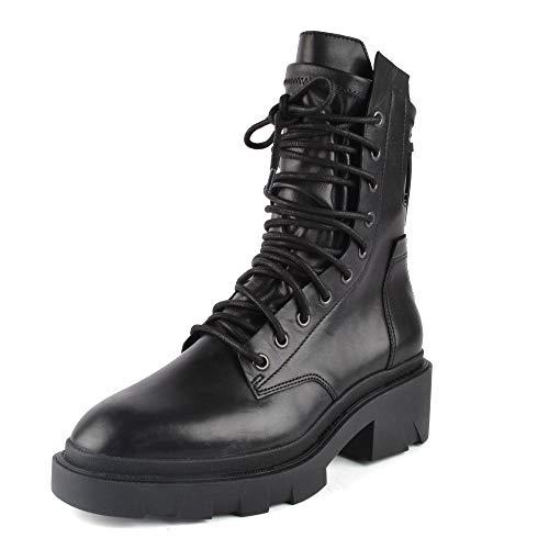 ASH Footwear Madness Black Leather Boot 40 EU Schwarz