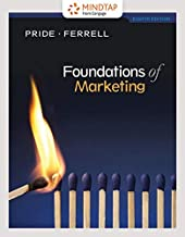 MindTap Marketing, 1 term (6 months) Printed Access Card for Pride/Ferrell's Foundations of Marketing, 8th