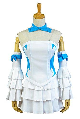 Fairy Tail Juvia Lockser Cosplay Kostüm Damen M