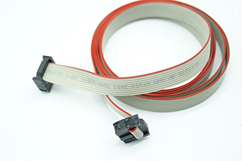 Moretti Fire - Cable de pantalla (conexión de 10 pines, mini 140 cm, E111235 AWM Style 2651 LL89862 CSA)