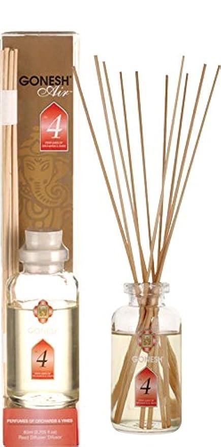 関与する効率的柱GONESH ガーネッシュ リードディフューザー NO.4 ルームフレグランス 芳香剤 アロマ インセンス 癒し 香り