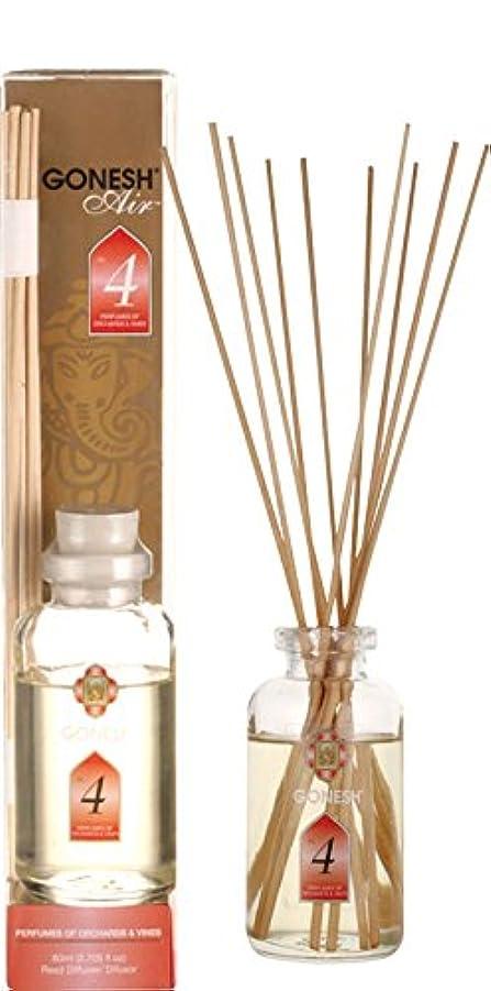 床を掃除する追加変化するGONESH ガーネッシュ リードディフューザー NO.4 ルームフレグランス 芳香剤 アロマ インセンス 癒し 香り