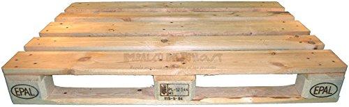 EPAL- Pallet de madera 120x 80 certificado.