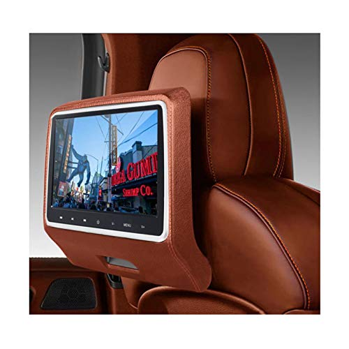 GMZS 10.1 '' Peadrest Monitor De Video LCD Car, SD USB MP5 Radio CD DVD Player IR/FM Juego