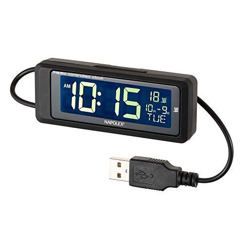 車用電波時計 (常時点灯タイプ USB) Fizz-1083