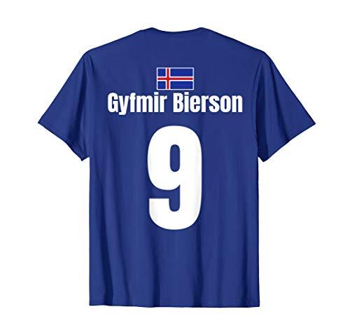 Isländische Namen Fußball Island Sauf Trikot Mallorca Bier T-Shirt
