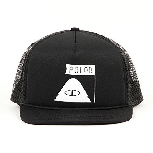 ポーラー POLER 正規販売店 帽子 キャップ SUMMIT MESH TRUCKER CAP 55300007-BLK BLACK (コード:41121279...