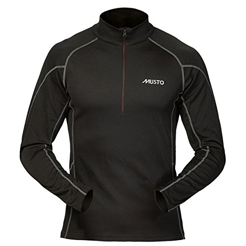 Musto Thermal Base Layer Top in Black SU3539 Sizes- - XXLarge