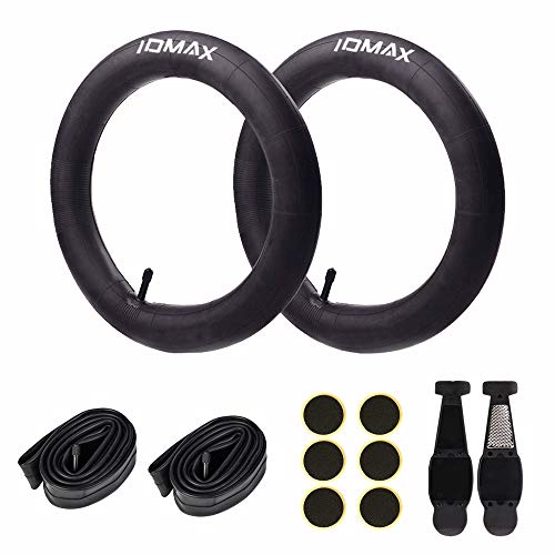 16 Inch Bike Tube, IDMAX 16'' x 1.75/2.125 Replacement Inner Tire Tubes (2 Pack), Premium Butyl Rubber Thorn Resistant Inner Tire with Repair Tool Kit for All BOB Revolution Strollers & Most Kid Bikes