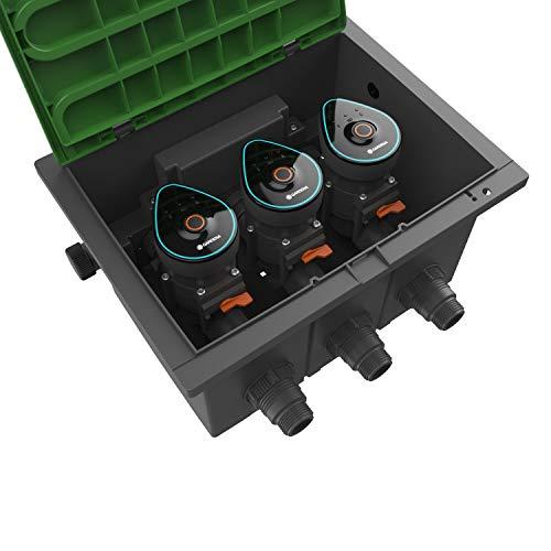 GARDENA 01286-20 Ventilbox 9 V Bluetooth...