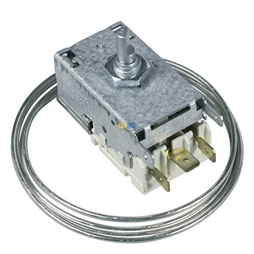 DL-pro Termostato adecuado para congelador Beko como 9002752885 Ranco K59-L2680
