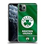 Head Case Designs Ufficiale NBA Banner 2019/20 Boston Celtics Cover in Morbido Gel Compatibile con Apple iPhone 11 PRO Max