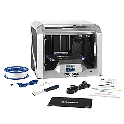Dremel 3D40 FLEX 3D Printer Wireless, Printing Volume 254 x 152 x 170 mm, Works with 1.75 mm PLA Filament, 340 - 50 Micron Resolution, Full-Colour Touch Display, WIFI and Slicing Software