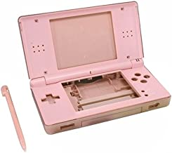 OSTENT Full Repair Parts Replacement Housing Shell Case Kit Compatible for Nintendo DS Lite NDSL Color Pink