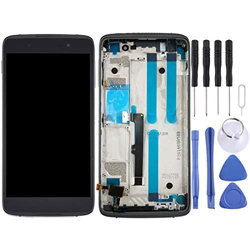 YEYOUCAI Pantalla LCD y digitalizador Asamblea completa con marco para BlackBerry DTEK50
