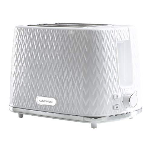 Daewoo SDA1781 Toaster, White