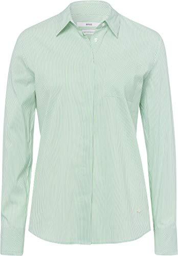 BRAX Damen Style Victoria Bluse, Green, 46