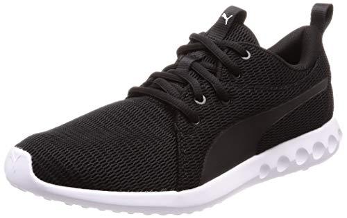 Puma Herren Carson 2 New Core Laufschuhe, Black White, 43 EU