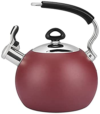 VICALINA 2-QT Tea Kettle for Stove Top, Whistling Water Kettle Pot, Food Grade Stainless Steel, Anti Hot Handle