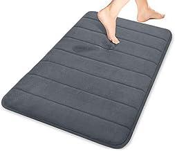 Yimobra Memory Foam Bath Mat Large Size 31.5 X 19.8 Inch Maximum Absorbency Non-Slip B