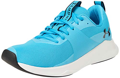 Under Armour Women's Charged Aurora Cross Trainer, Equator Blue (400)/White, 9