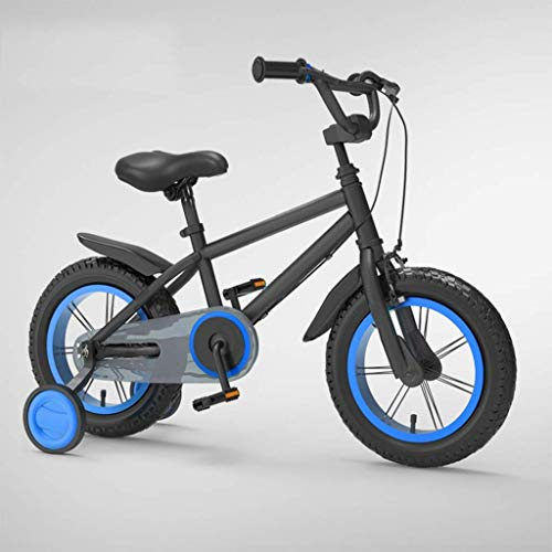 KELITINAus 3-8 Años de Edad Niños Bike Freestyle Girls Boys Niños Niños Niños Bicicleta, 14 16 Pulgadas Bicicleta para Niños con Ruedas de Entrenamiento Bicicleta de Balance, Freno Posterior Del Saló