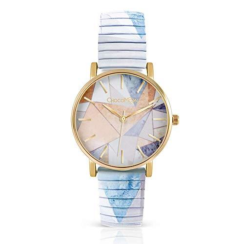 ChocoMoon™ Damen Armbanduhr: stylish und kreativ - der besondere Schmuck Modische und individuelle Uhr für Frauen. Beliebt im Vintage Stil.