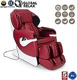 SAMSARA Sillon de masaje 2D - Rojo (modelo 2019) - Sofa masajeador electrico de relax con...