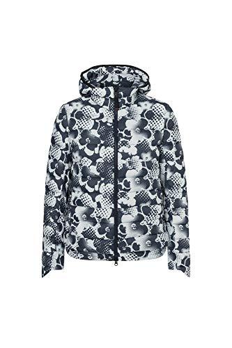 Bogner Fire + Ice Ladies Anka-D Flower Blau, Damen Daunen Jacke, Größe 40 - Farbe Darkest Navy