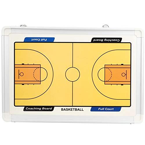 Cloudbox Tabla Colgante magnética del Tablero del Entrenador de Baloncesto del Marco de la aleación de Aluminio para el Entrenamiento 18.3x12.4x0.8in