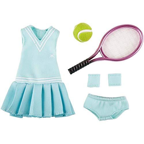 Käthe Kruse 0126866 Luna - Vestito da Tennis, Colore: Azzurro
