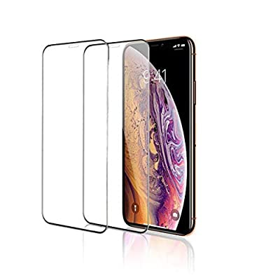 Gorilla Gadgets Screen Protector for Apple iPhone Xs & iPhone X (Clear, 2 Packs) 0.25mm iPhone Xs/X Tempered Glass Screen Protector with Advanced Clarity [3D Touch] by Gorilla Gadgets
