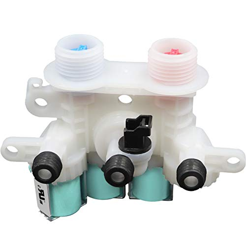 W11096268 (W11220230) Water Inlet Valve (OME) Compatible with Whirlpool & Kenmore Washing Machine Replaces W10632527 W10758829 W10853296 W11096268 etc (120V 60Hz) 1 Year Warranty