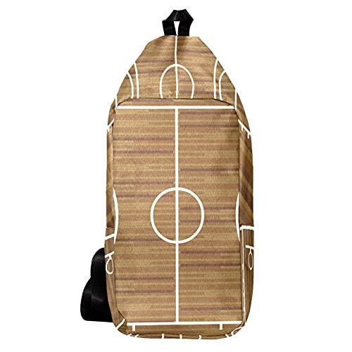 EZIOLY Mochila de hombro de la cancha de baloncesto bolso bandolera bolsa de viaje senderismo mochila para hombres y mujeres